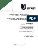 TRABAJO FINAL GESTIÓN DE MANTENIMIENTO 123