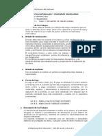 03. ESPECIFICACIONES TECNICAS - RED DE ALCANTARILLADO