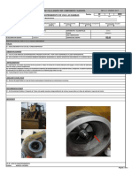 Informe Daño Turbocompresor RE-63