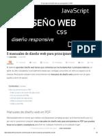 5 Manuales de Diseño Web Para Principiantes en PDF