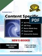 Content Catalog 1-17-11