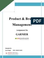 PBM - Garnier