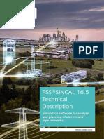 PSS SINCAL Platform 16.5 - Technical Description_v1.0