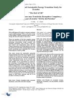 Primer Estudio para una Transición Energética Completa y