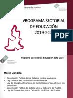 Anexo 4. Programa Sectorial de Educación 2019 - 2024