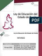 Anexo 3. Ley de Educación Puebla 2020