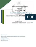 CDHV_Constancia Curso Derechos Humanos y Violencia Diana Guillermina González Rodríguez