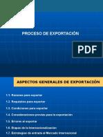 Tema 4 -  PROCESO DE EXPORTACIÓN