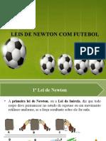 LEIS DE NEWTON COM FUTEBOL