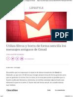 Utiliza filtros y borra de forma sencilla los mensajes antiguos de Gmail _ Lifestyle _ Cinco Días