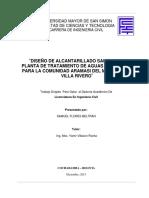 Ing-Civil_11-12-13_TrabajoDirijido_DisenoDeAlcantarilladoSanitarioYPlantaDeTratamientoDeAguasResidualesParaLaComunidadAramasiDelMunicipioDeVillaRivero.pdf