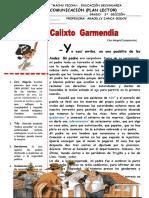 COMUNICACIÓN-CALIXTO GARMENDIA