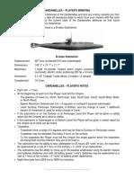 Dardanelles Submarine Game