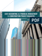 Cost Acc and Fin Mgmt for Construction Project Managers