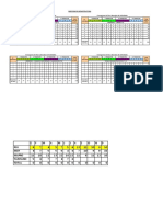 Cronograma Direccion Infraestructura