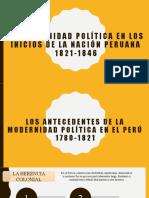 Agustín gamarra y la Política caudillesca