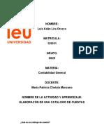 LIRA-ADAN-Actividad de Aprendizaje 3. Elaboracion de un catalogo de cuentas.
