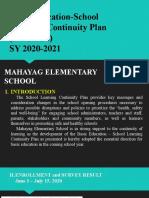 BE-SLCP Final Presentation