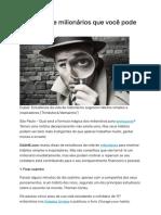 8 hábitos de milionários que você pode imitar _ Exame.pdf