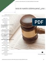 Recursos y burocracia en nuestro sistema penal, ¿una verdadera optimización de ella_ _ LexWeb