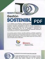 IV Premios Gestion Sostenible