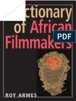 Dictionary of African Filmmakers (Roy Armes, 2008)