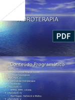 hidroterapia unidade I