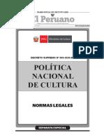 Politica Nacional de Cultura 2020