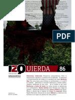 RevistaIzquierdaNo. 86