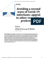 Avoiding a second wave of Covid-19 infections_ appeal to other-regarding preference