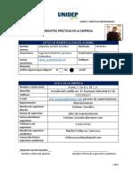 registro practicas profesionales