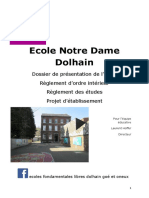 dossier inscription dolhain 2020