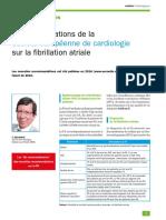 Recos Fibrillation Atriale 2016