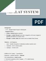 Adalat system
