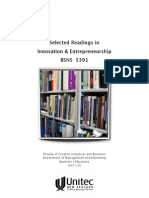 Selected Readings in Innovation and Entrepreneurship (Unitec BSNS 5391)