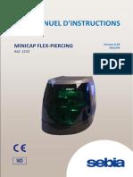 MANUEL D'INSTRUCTIONS minicap flex