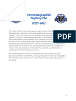 Pierce County Schools Reopening Plan