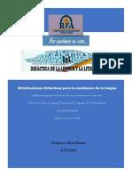 DID.LyL 1-2020-Orientaciones diácticas para la enseñanza de la lengua
