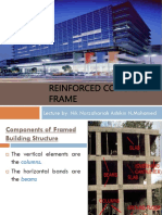 Lecture 3 - Reinforced concrete framed structures