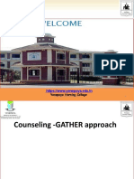 Counseling -GATHER approach-ANAND MLHP