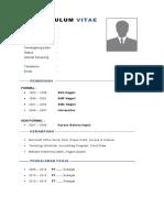 03 Contoh CV template A1
