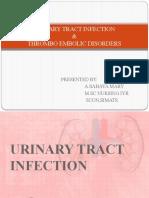 uti and thrombo embolic disorders