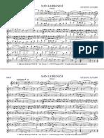 San Lorenzo Score e Fascicolo