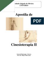 FISIOTERAPIA - APOSTILA DE CINESIOTERAPIA II
