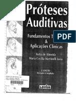 Próteses Auditivas - Fundamentos Teóricos e Aplicações Clínicas