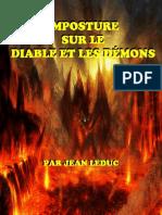Imposture Diable Demons
