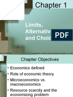 Chapter 1 Limits Alternatives and Choices