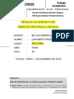 Derecho Procesal Laboral Luchito Orozco Gomez