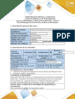 Guía Paso 3 - Psicofisiología de la Emoción, Sueño y Motivación..docx