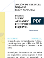 SUCESION    NOTARIAL